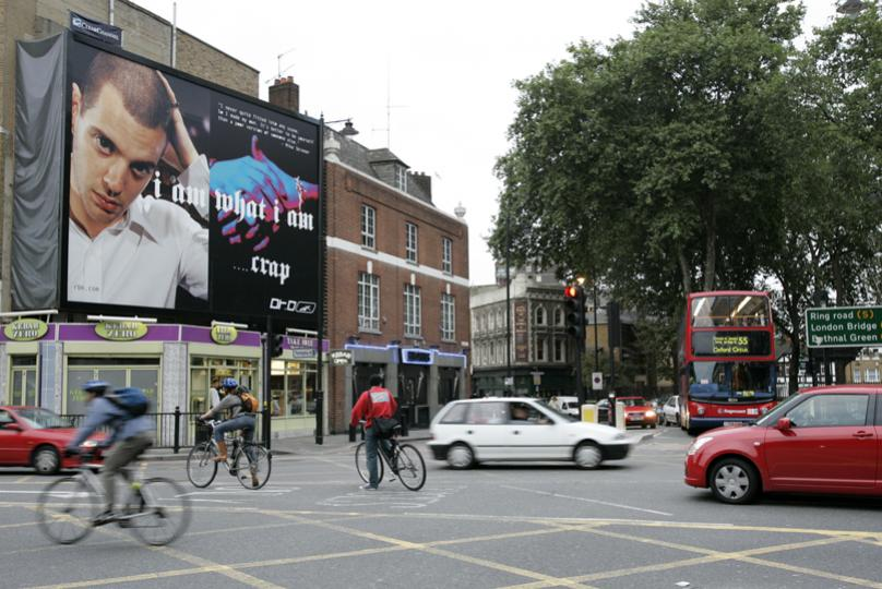 Dr D Mike Skinner billboard