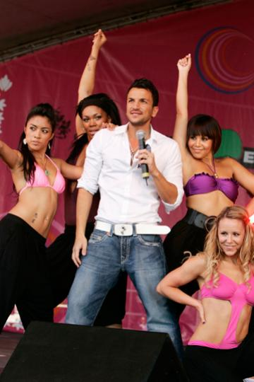Peter Andre girls 2