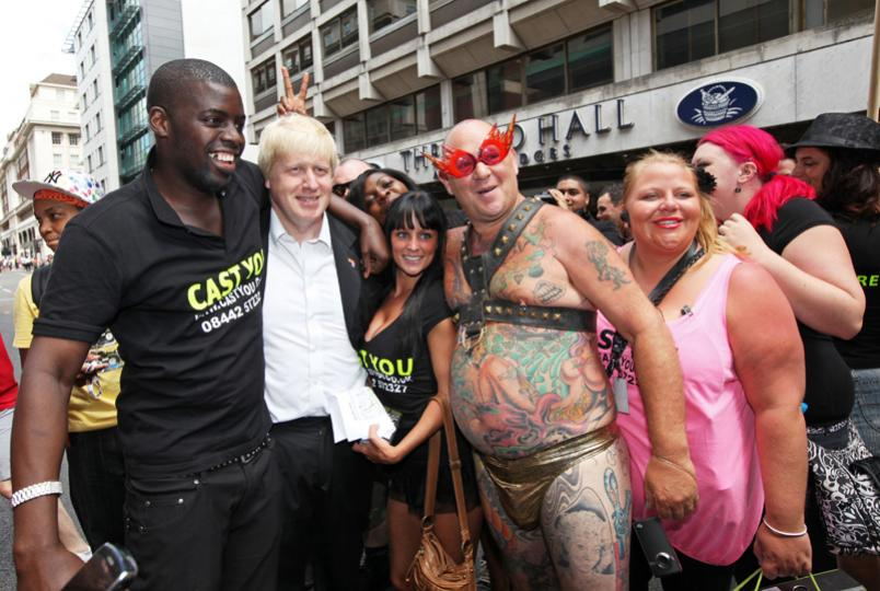 Pride2010 Boris Johnson 1